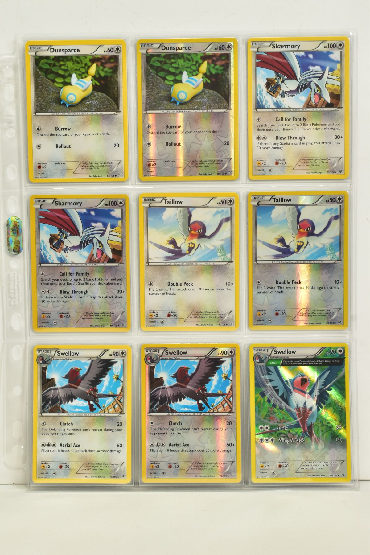A COLLECTION OF ASSORTED POKEMON CARDS, to include complete master sets of XY Breakpoint, XY Roaring - Image 79 of 108