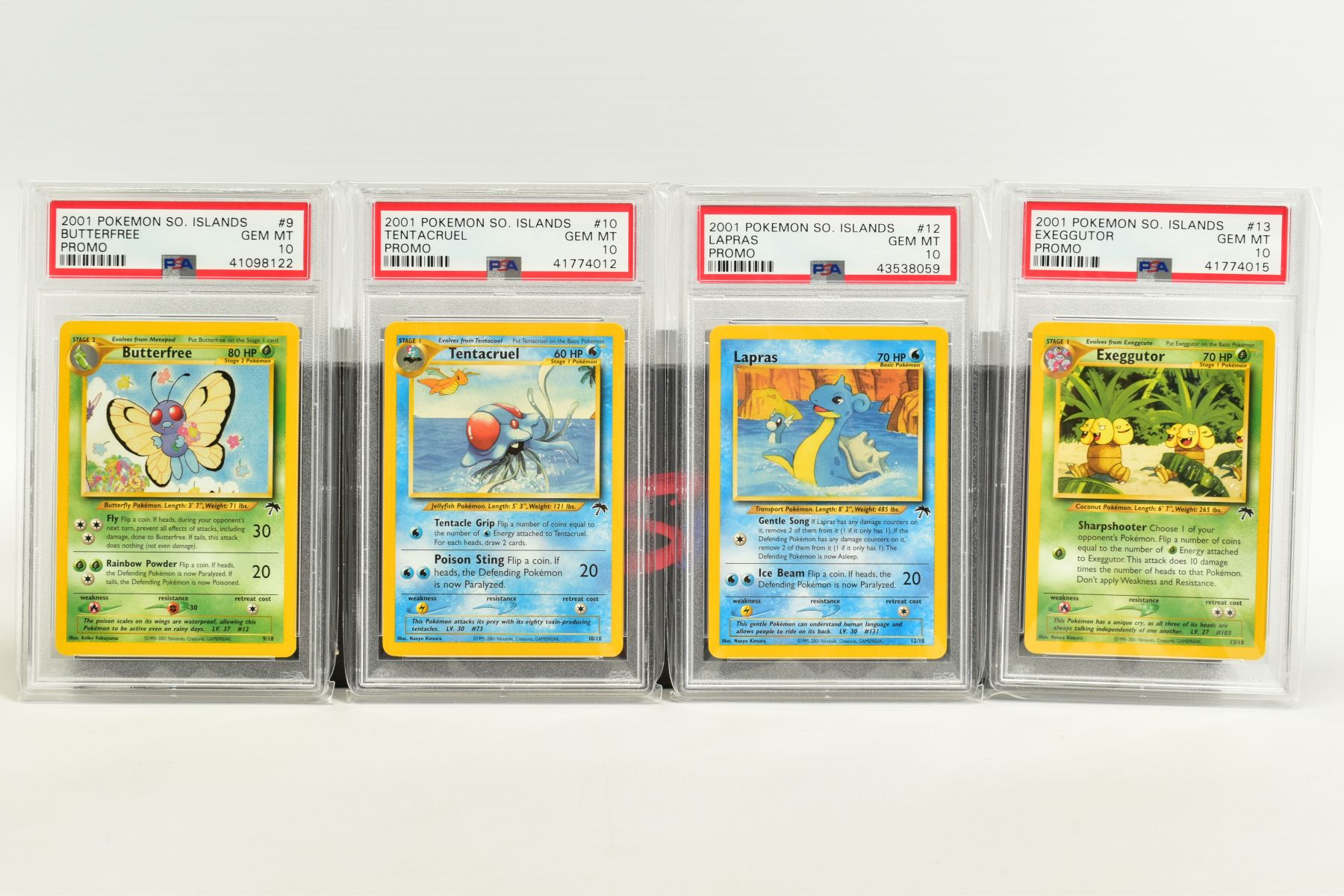 A QUANTITY OF PSA GRADED POKEMON CARDS, assorted cards from the Southern Islands Promos, Build-A- - Image 3 of 12