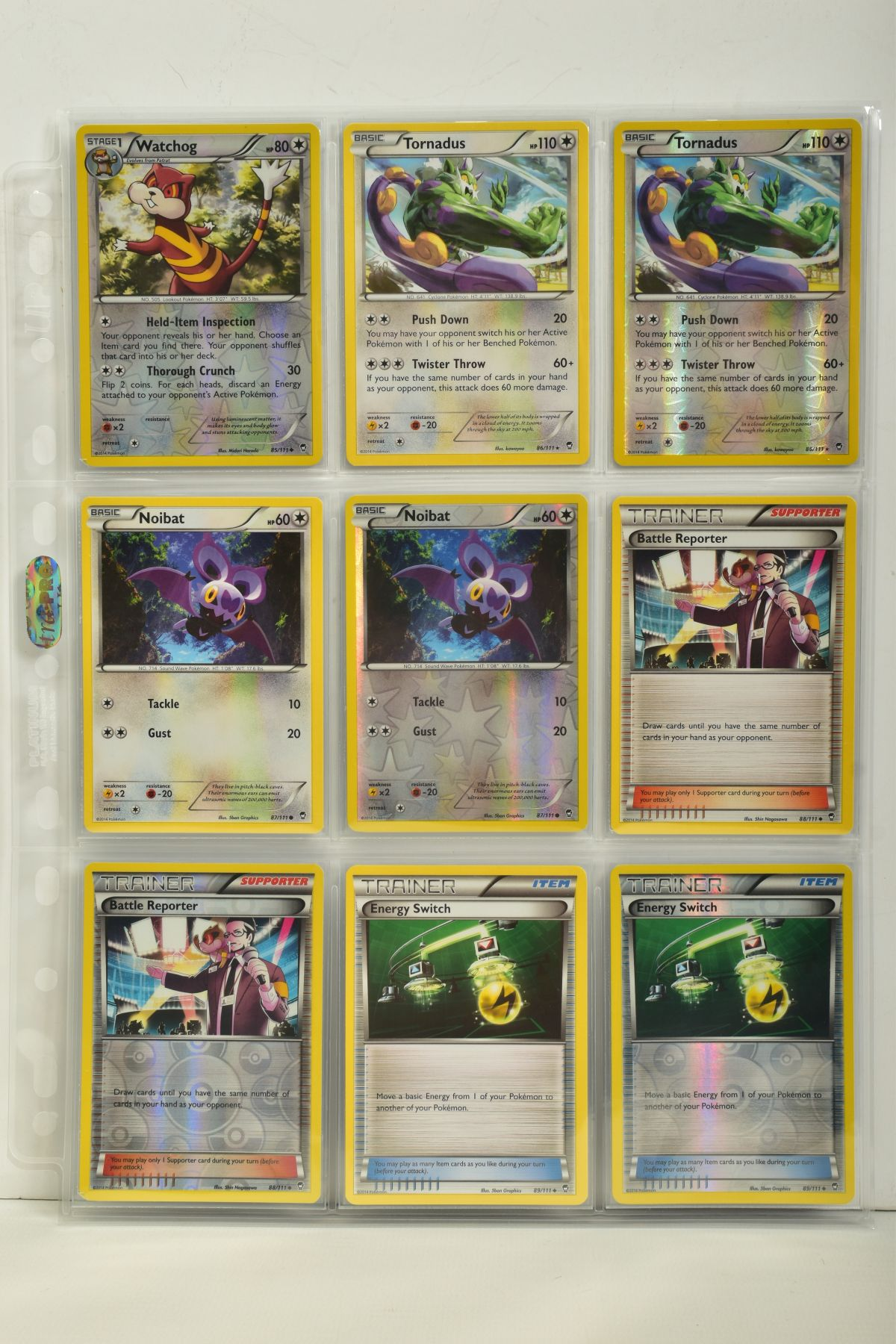 A COLLECTION OF ASSORTED POKEMON CARDS, to include complete master sets of XY Phantom Forces, XY - Image 95 of 101
