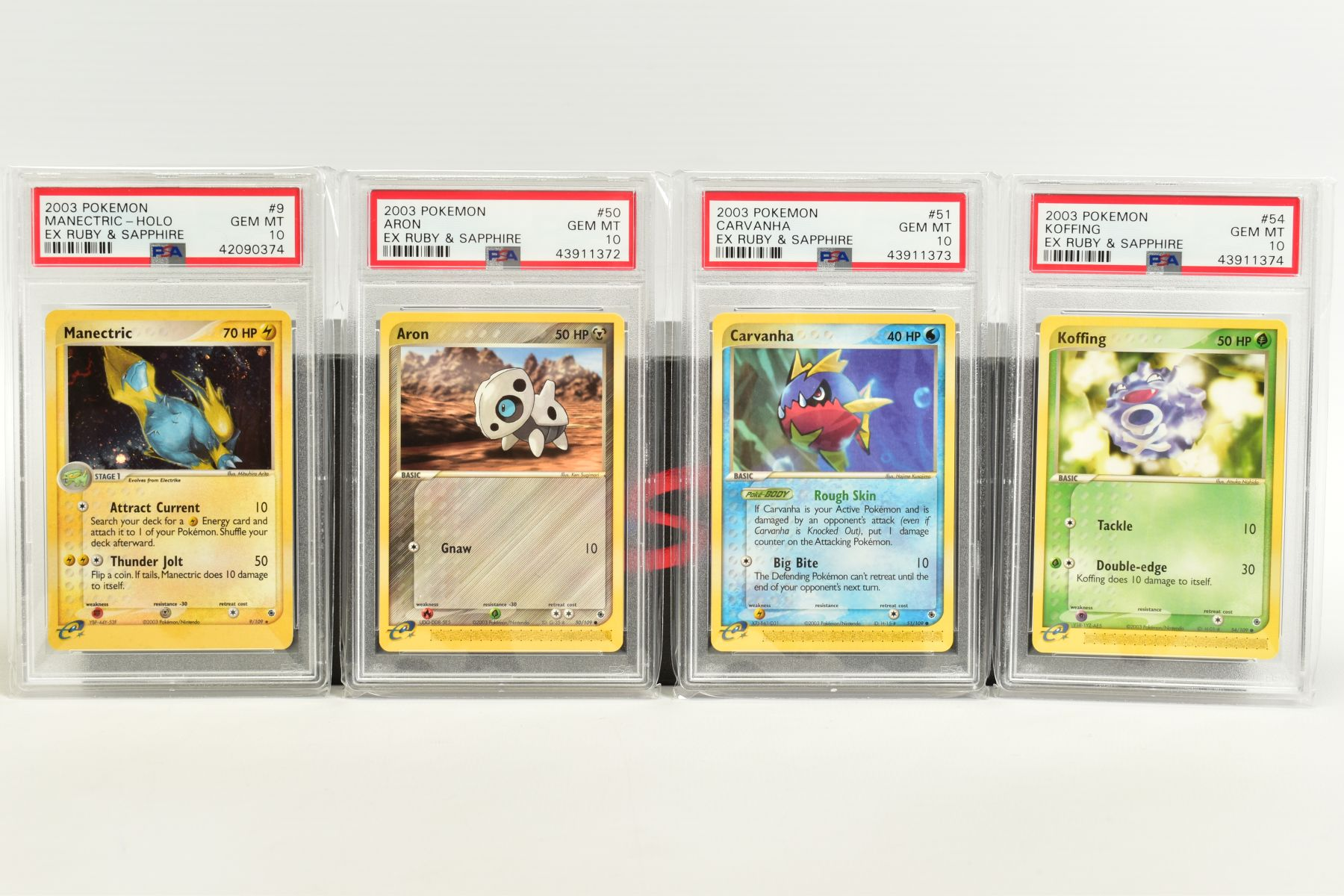 A QUANTITY OF PSA GRADED POKEMON EX TEAM ROCKET RETURNS AND EX RUBY & SAPPHIRE SET CARDS, all are - Image 12 of 15