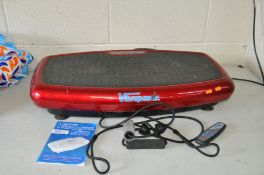 A VIBRAPOWER SLIM MODEL No JF-B-01 with remote, manual and two strap handles ( PAT pass and working