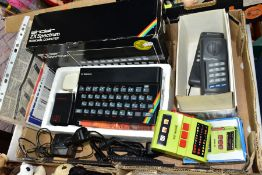 A BOXED SINCLAIR ZX SPECTRUM PERSONAL COMPUTER, includes power supply (not tested or PAT tested),