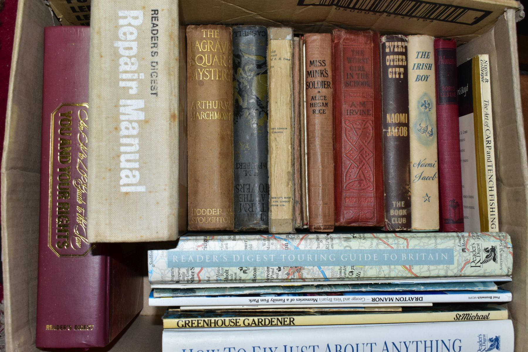 BOOKS, six boxes of over one hundred and twenty five miscellaneous titles to include Royal - Image 2 of 9