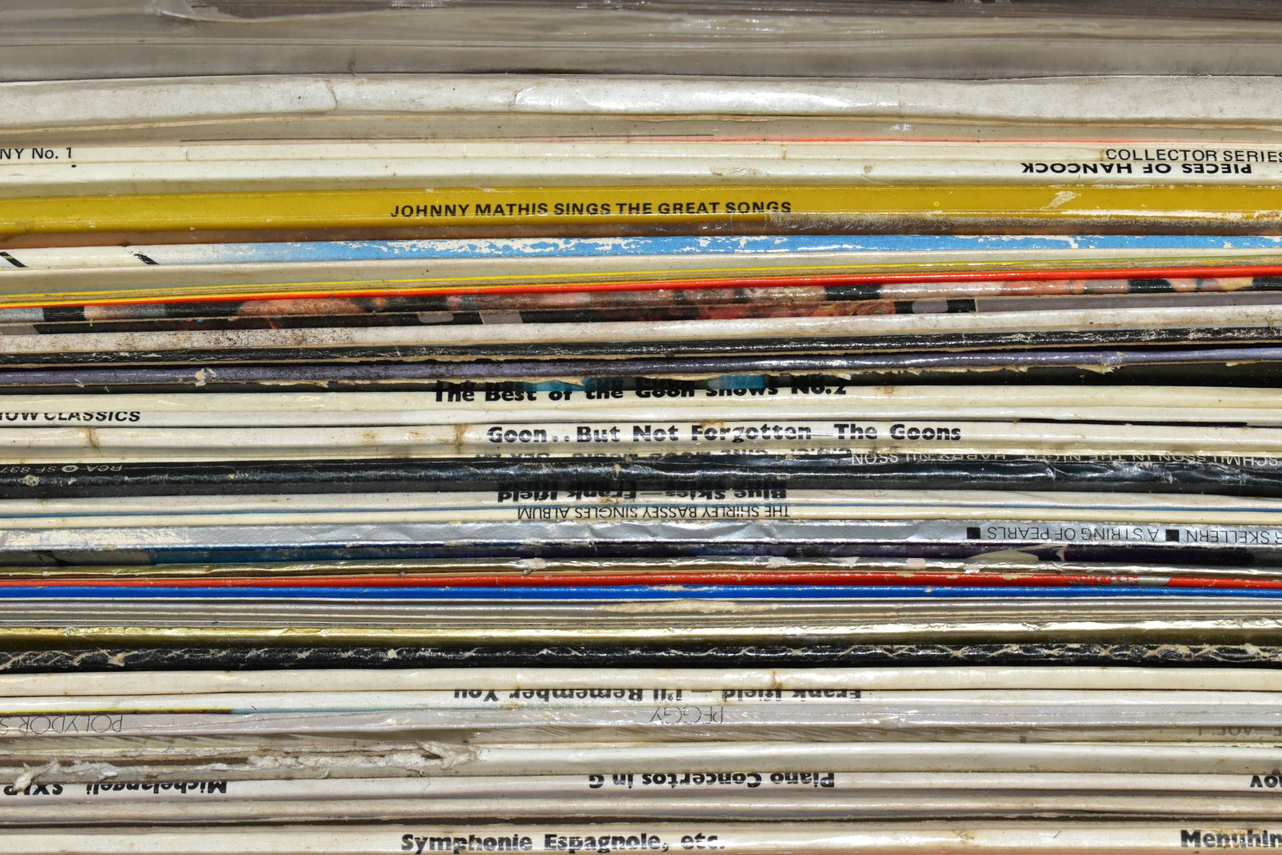 TWO TRAYS CONTAINING OVER ONE HUNDRED AND FIFTY LPs AND BOXSETS, including The Goons, Tony - Image 2 of 9