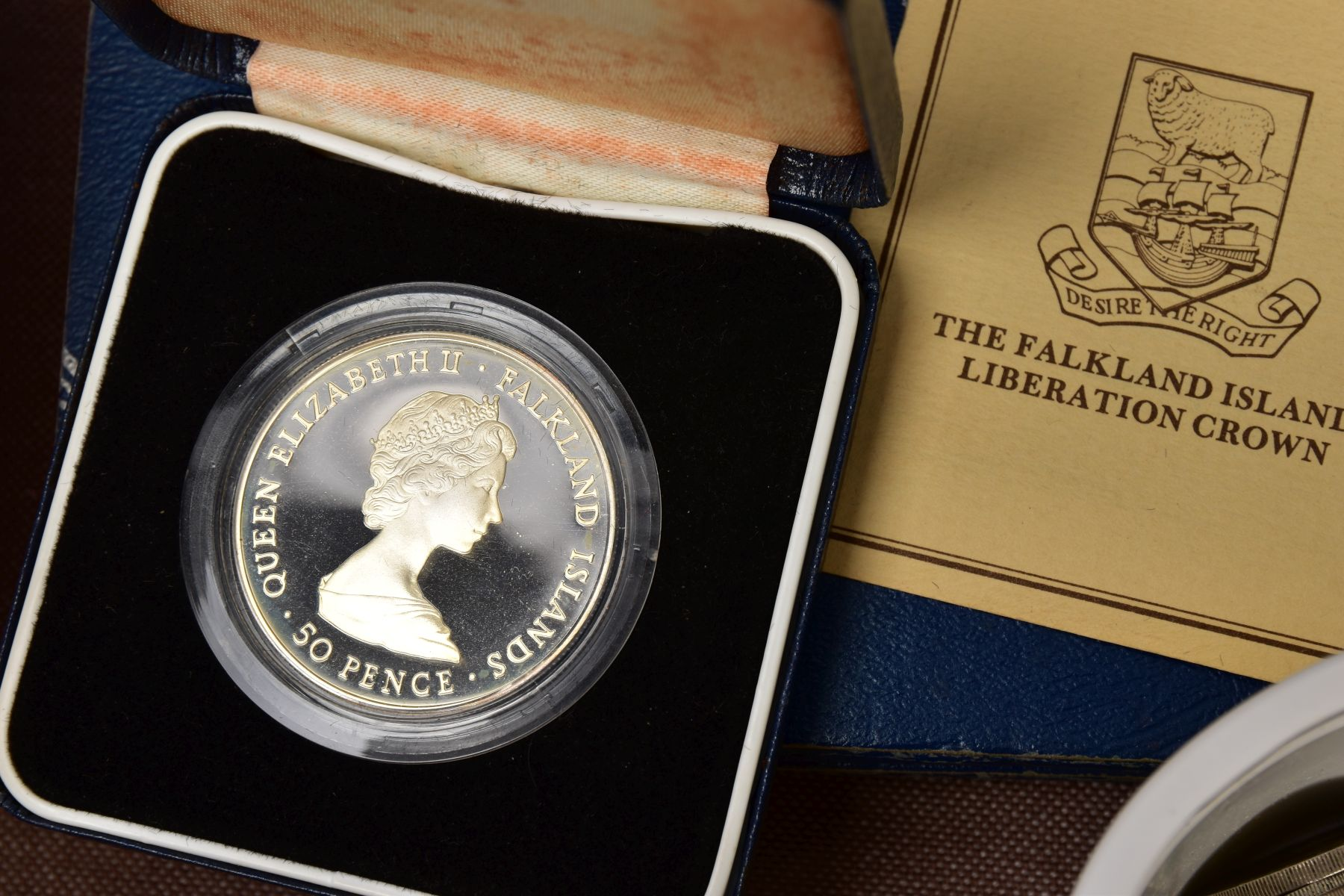 A SAMSONITE BRIEFCASE OF COINS AND COMMEMORATIVES, to include a Queen Elizabeth 50th Anniversary 9ct - Image 3 of 11