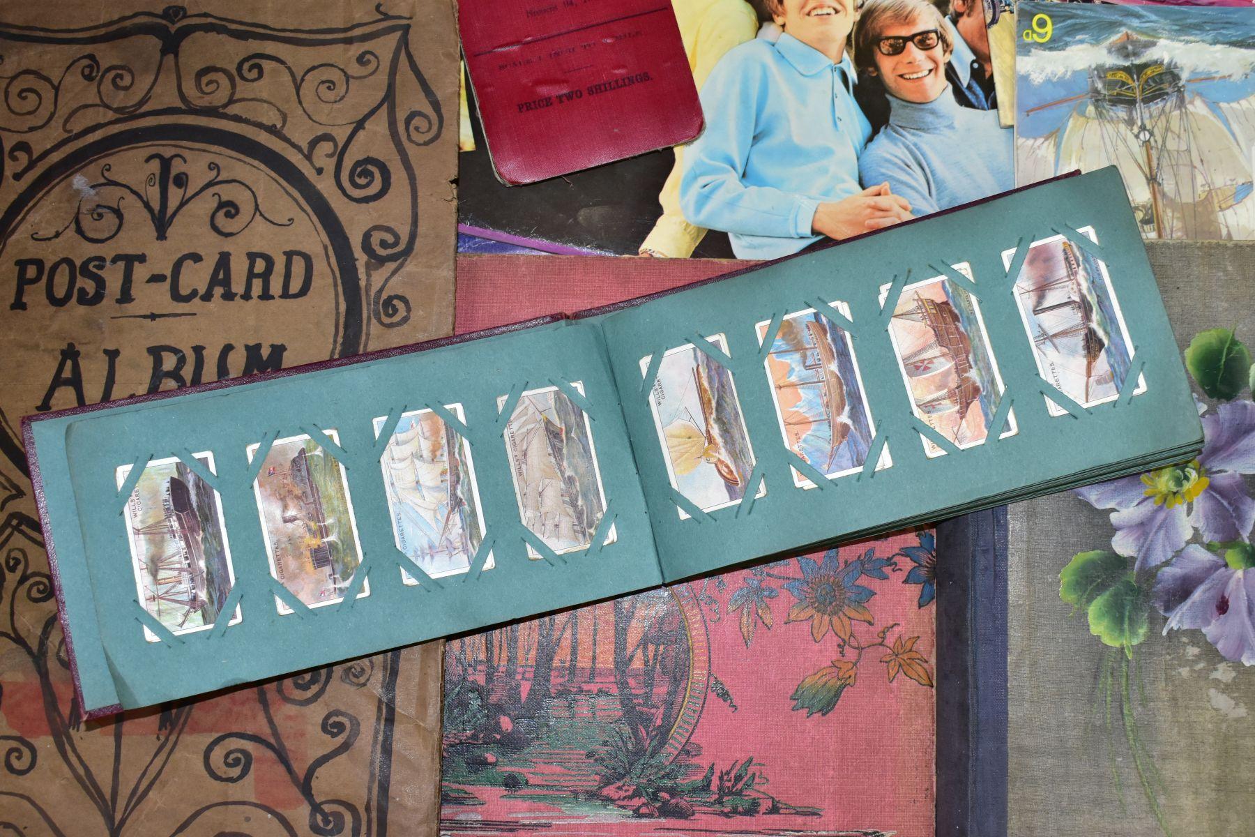 EPHEMERA, once box containing three Edwardian Postcard Albums (approximately 325 postcards), to - Image 7 of 23