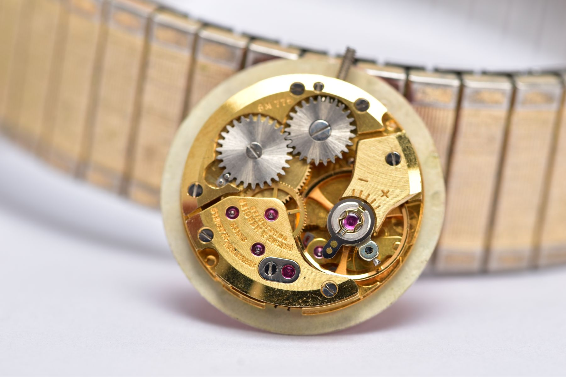 A GENTS 'LIMIT' WRISTWATCH AND WATCH PARTS, the quartz 'Limit' wristwatch, round gold dial signed ' - Image 7 of 7