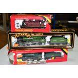 THREE BOXED 00 GAUGE LOCOMOTIVES, Hornby Class 2 No 46521, B.R. green livery (R852), Class 3F