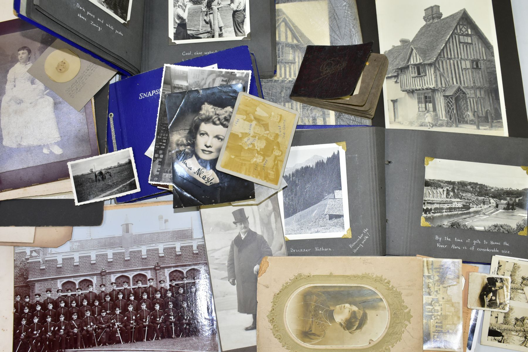 PHOTOGRAPHS, a collection of Edwardian, early - mid 20th Century photographs in one box and four - Image 2 of 6
