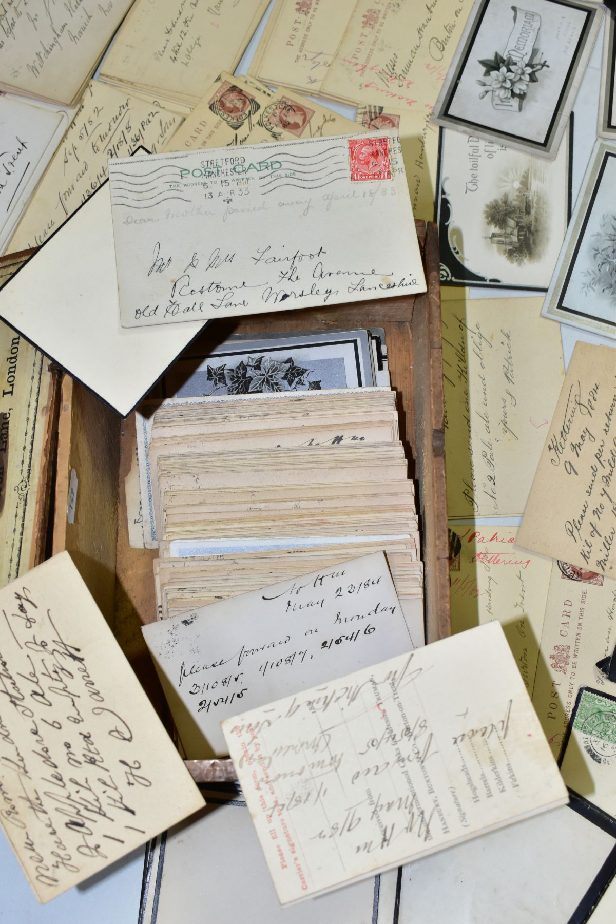 TRUMAN, HANBURY, BUXTON & CO, a collection of over three hundred postcards relating to orders for - Image 4 of 4
