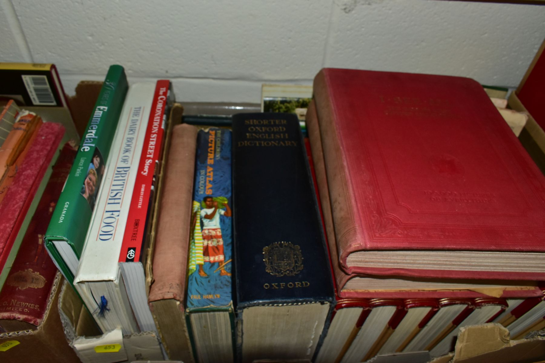 BOOKS, six boxes of over one hundred and twenty five miscellaneous titles to include Royal - Image 6 of 9