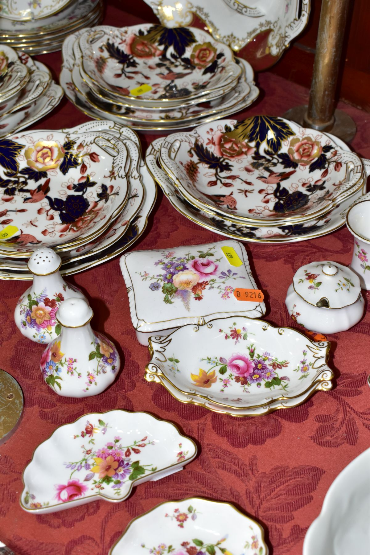 DECORATIVE CERAMICS, ETC, to include Royal Crown Derby 'Derby Posies' pintrays trinket box, - Image 3 of 13