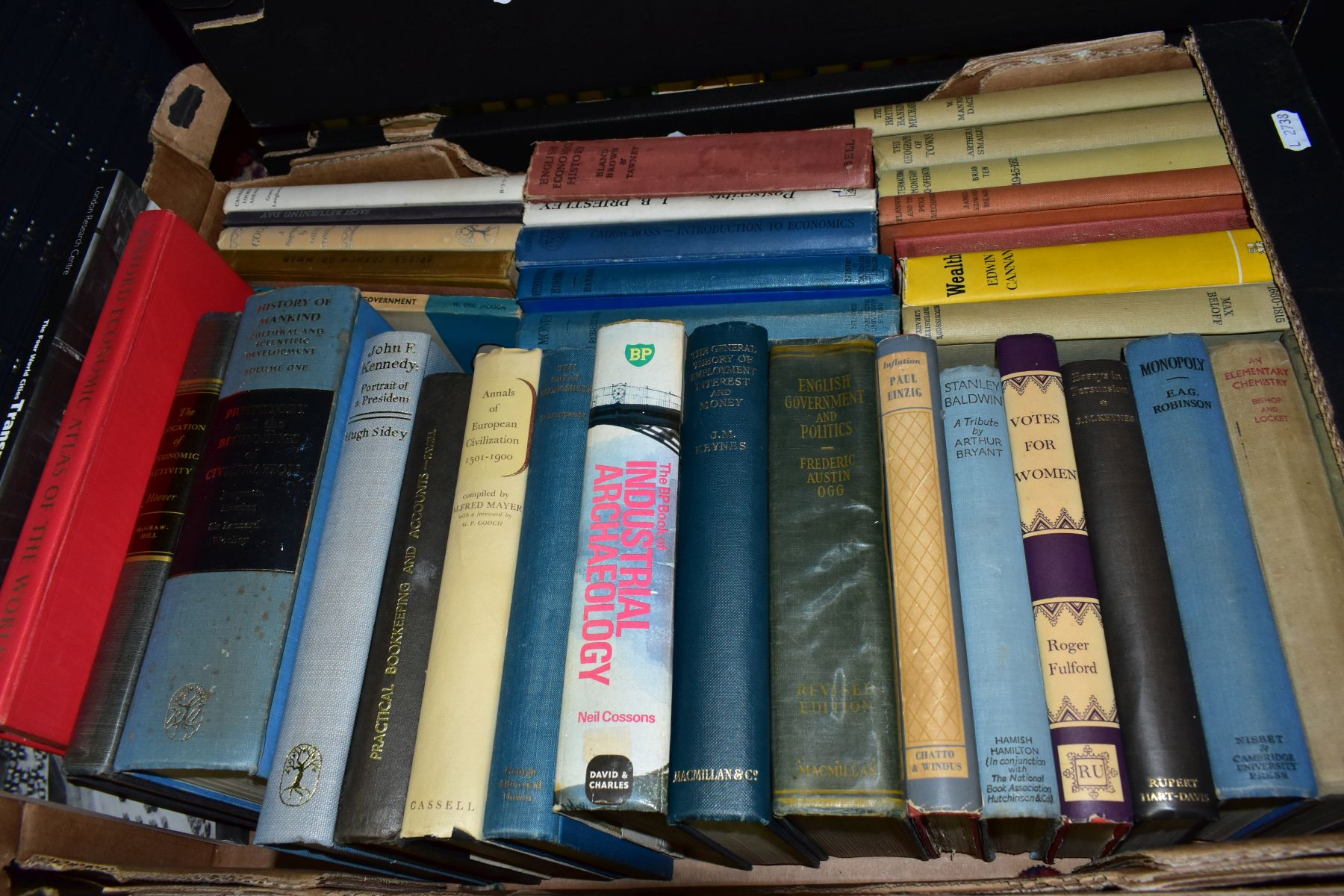 BOOKS, six boxes containing approximately two hundred and ten titles including Flora Fauna, - Image 3 of 7