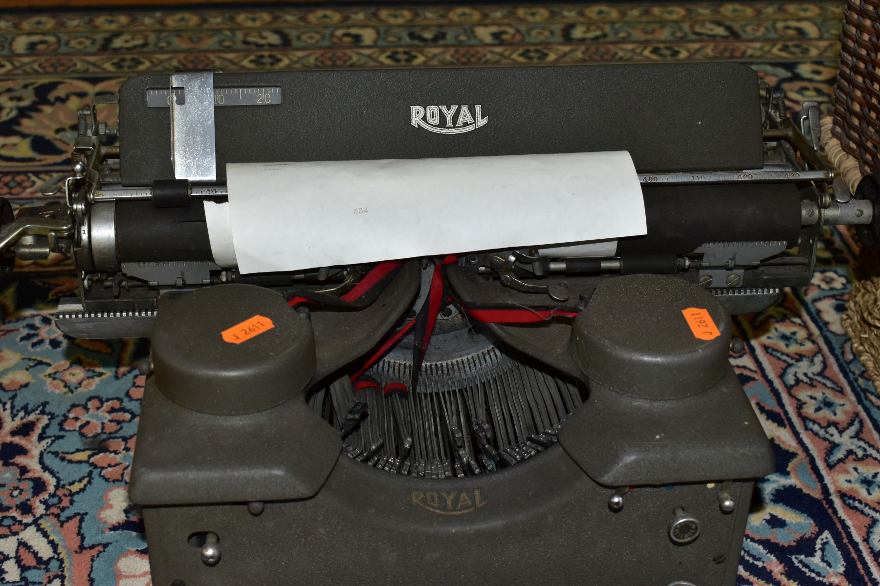 BINOCULARS, CAMERAS AND TYPEWRITER, ETC, to include a pair of Kershaw military prism No.2 MKIII - Image 7 of 9