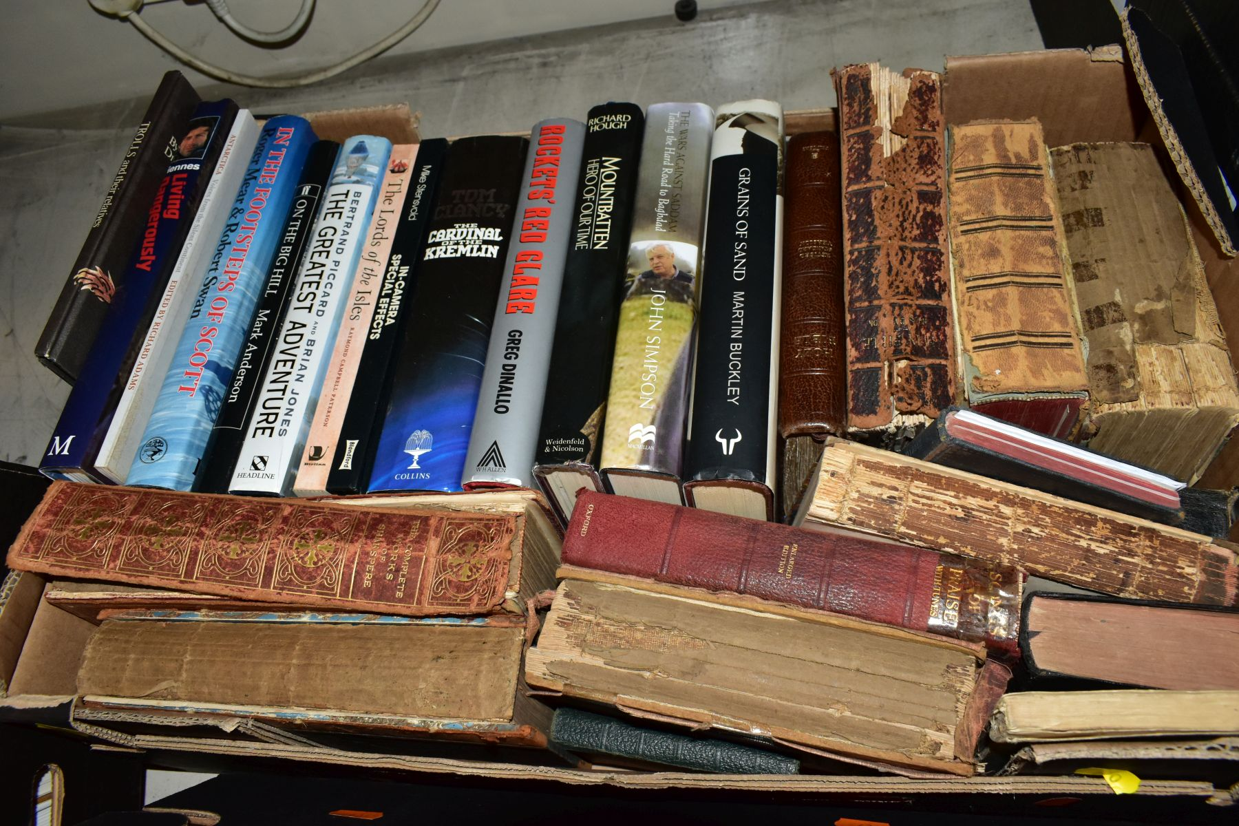 THREE BOXES OF BOOKS, to include subjects on woodworking, furniture, restoration, photography, - Image 4 of 4