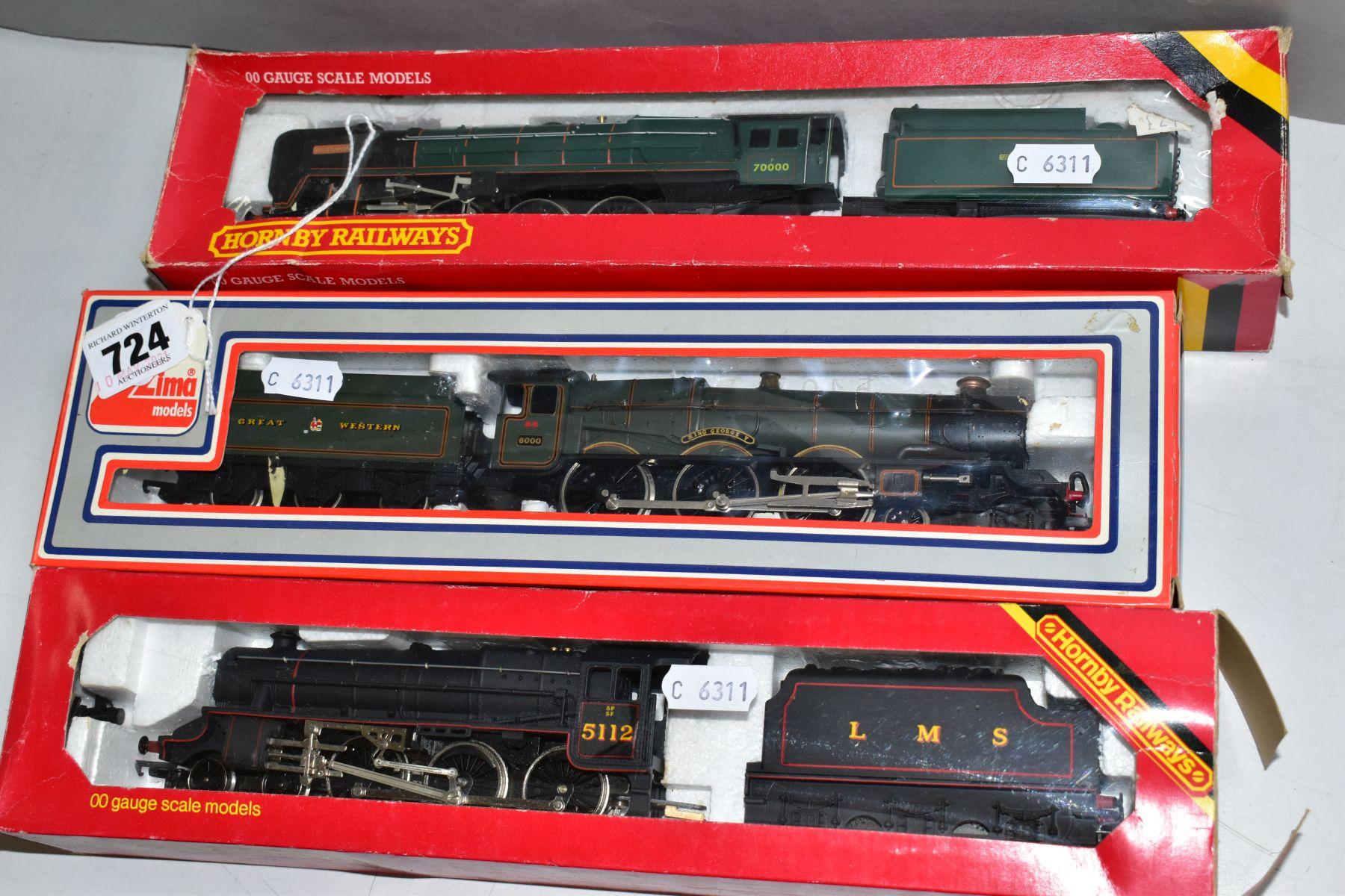 THREE BOXED 00 GAUGE MODEL RAILWAY LOCOMOTIVES, Hornby Britannia Class 'Britanna' No. 70000, B.R. - Image 3 of 3