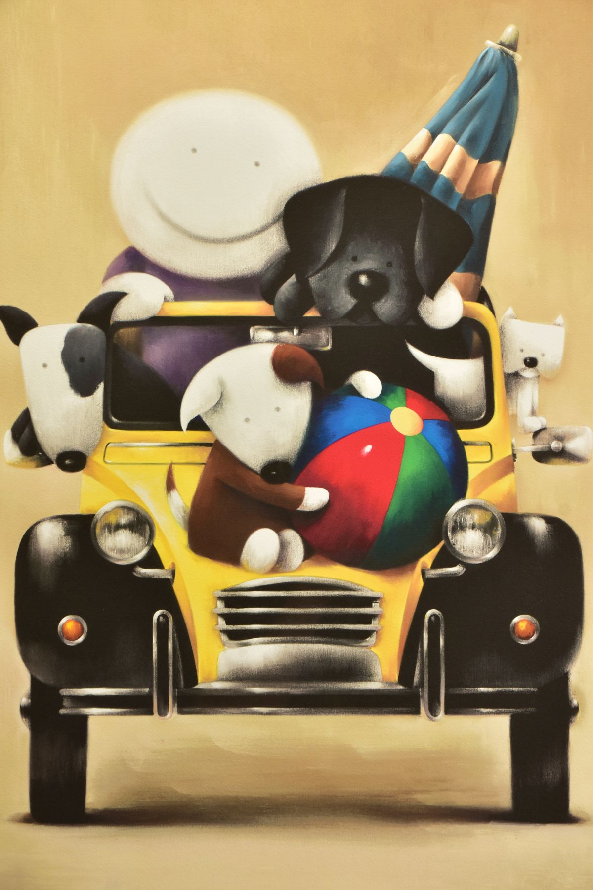DOUG HYDE (BRITISH 1972) ' LOVE OVERLOAD', a boy and his pets in a Citroen 2CV, limited edition - Image 2 of 12