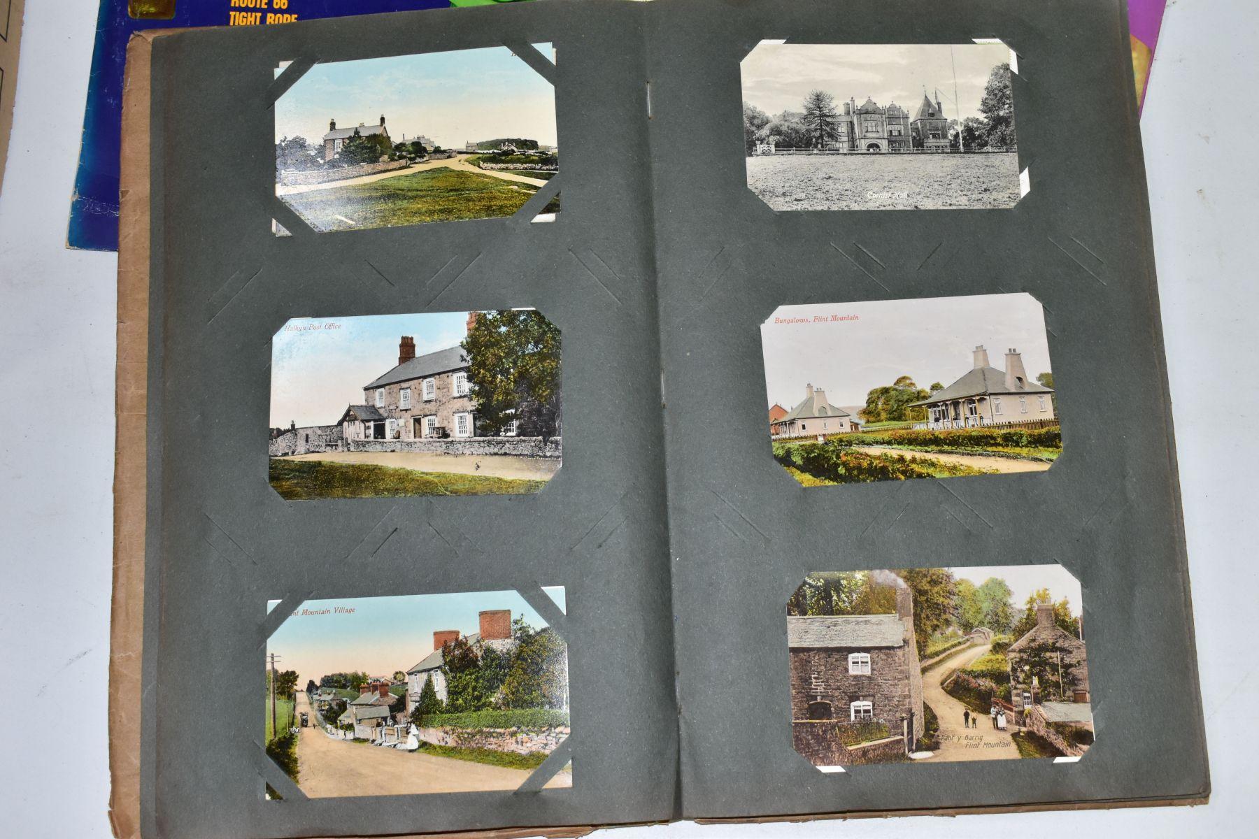 EPHEMERA, once box containing three Edwardian Postcard Albums (approximately 325 postcards), to - Image 23 of 23
