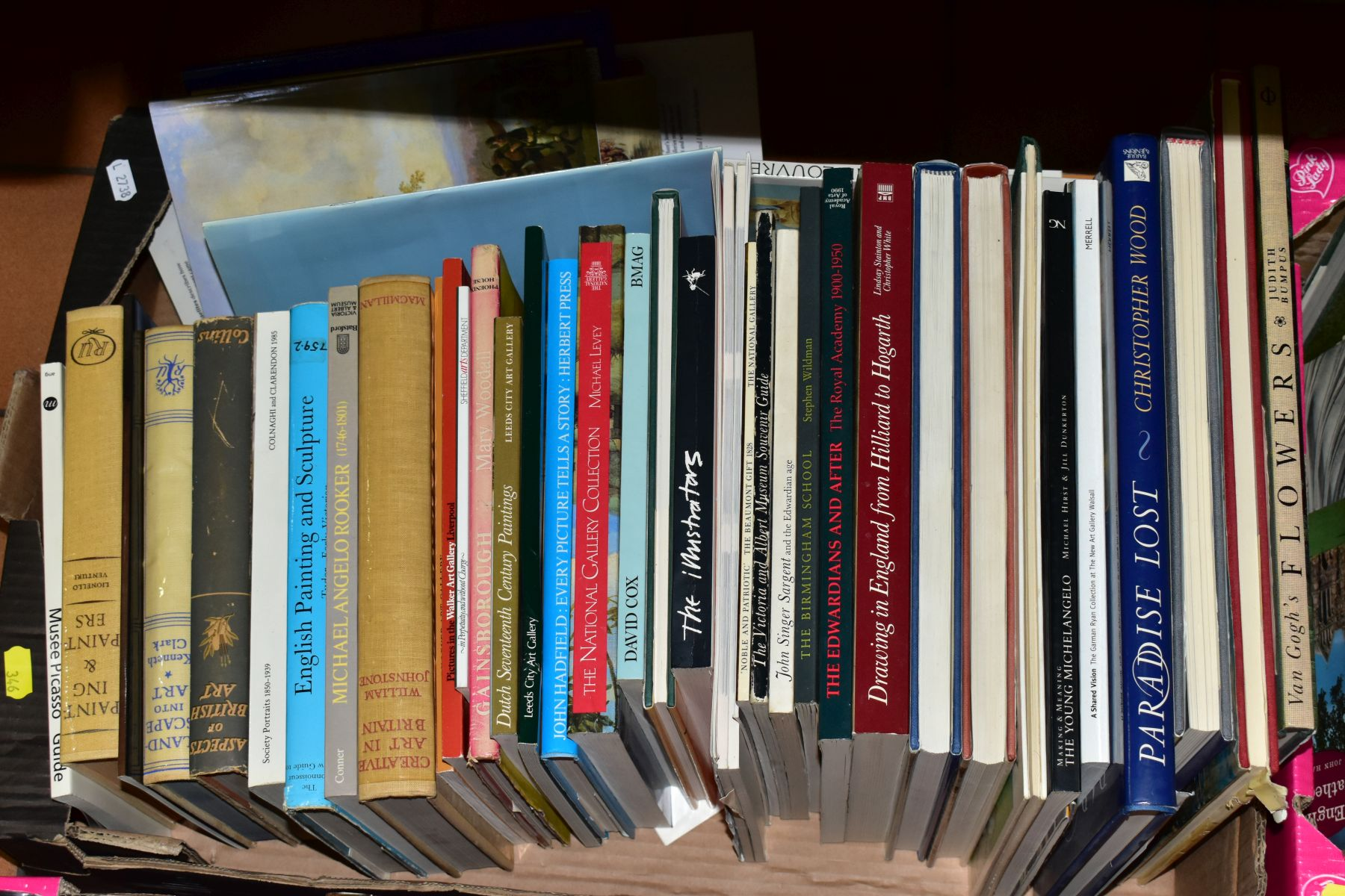 FOUR BOXES OF BOOKS INCLUDING ART AND TRAVEL INTEREST, titles include 'Master Drawings In The - Image 5 of 5