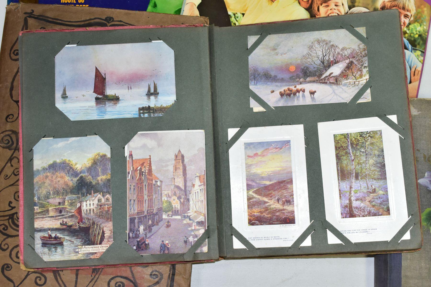 EPHEMERA, once box containing three Edwardian Postcard Albums (approximately 325 postcards), to - Image 13 of 23
