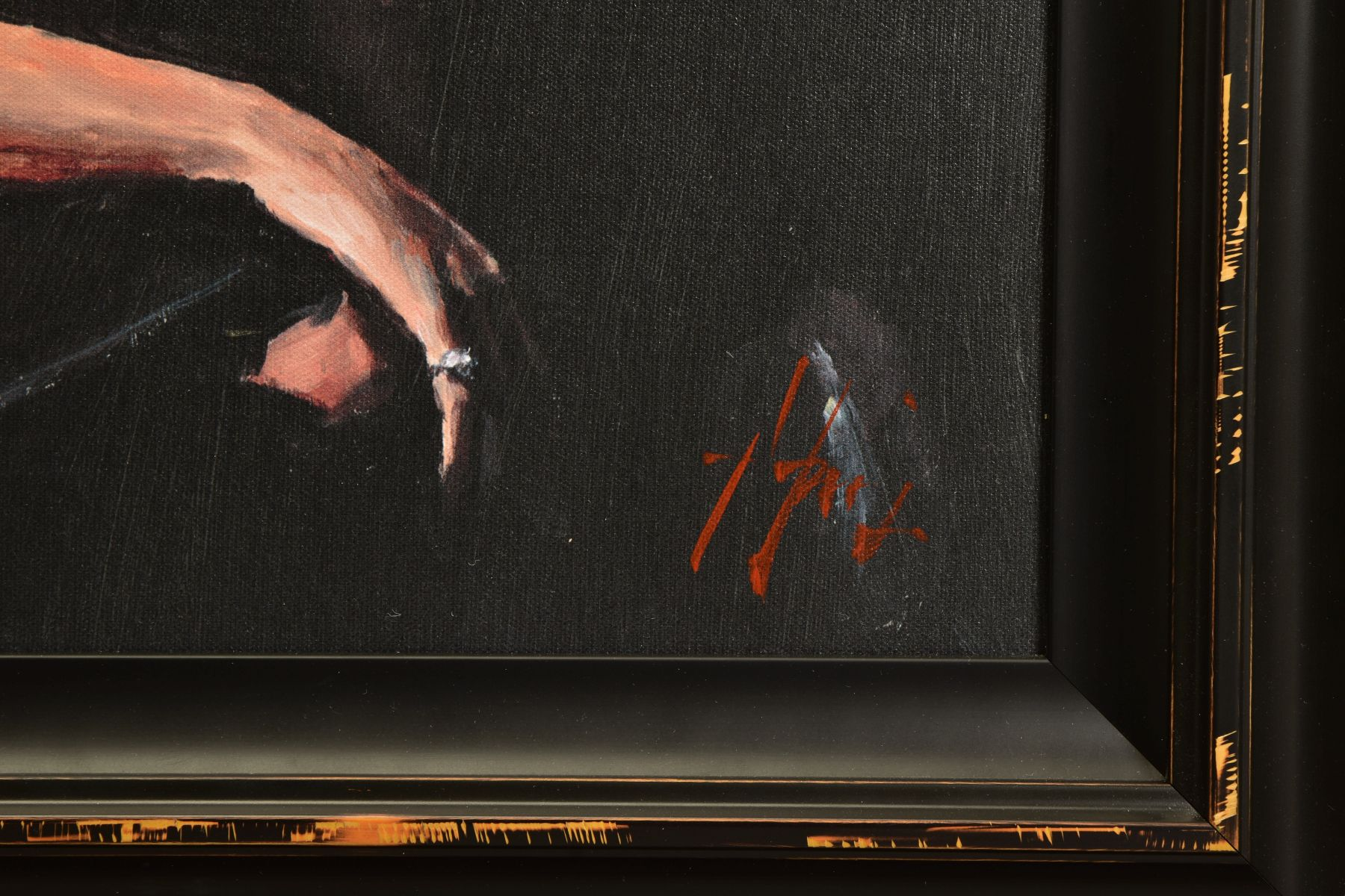 FABIAN PEREZ (ARGENTINA 1967) 'PROPOSAL AT HOTEL DU VIN', a limited edition print 36/95, male and - Image 3 of 8