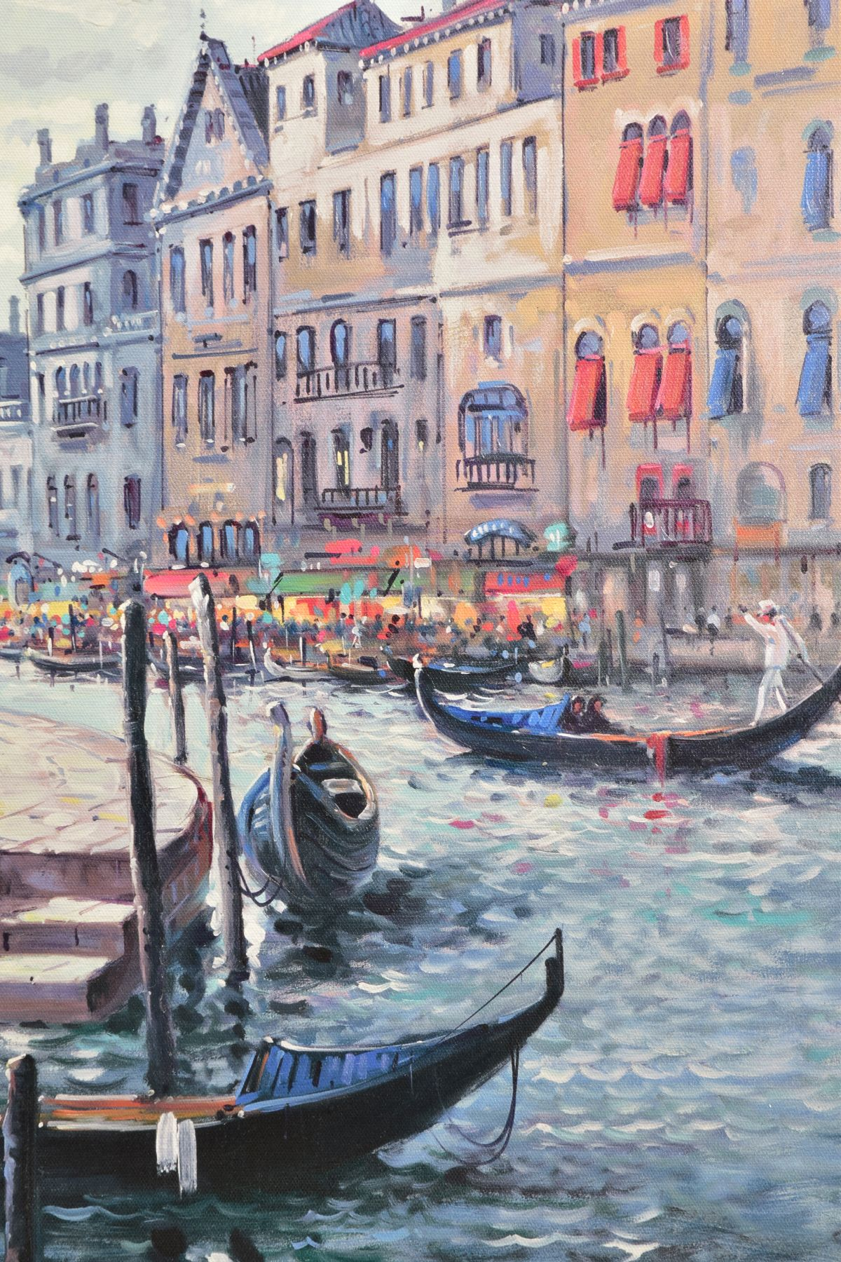 HENDERSON CISZ (BRAZIL 1960) 'DREAMING OF VENICE' a limited edition print 55/95, a Venetian - Image 3 of 6