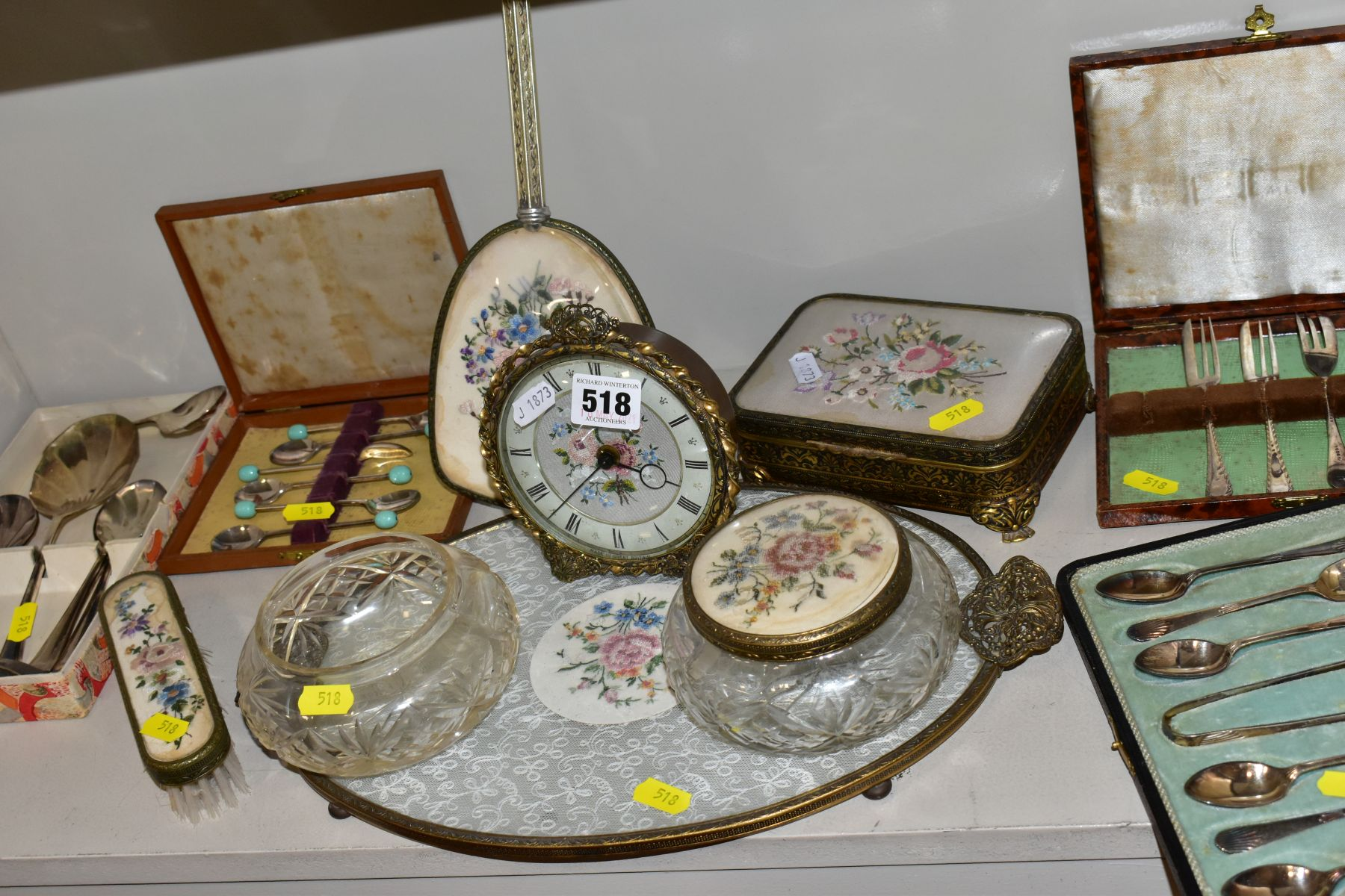 A COLLECTION OF METALWARES AND COLLECTABLES, including a Sawyers View-Master and ten packets of - Image 11 of 11