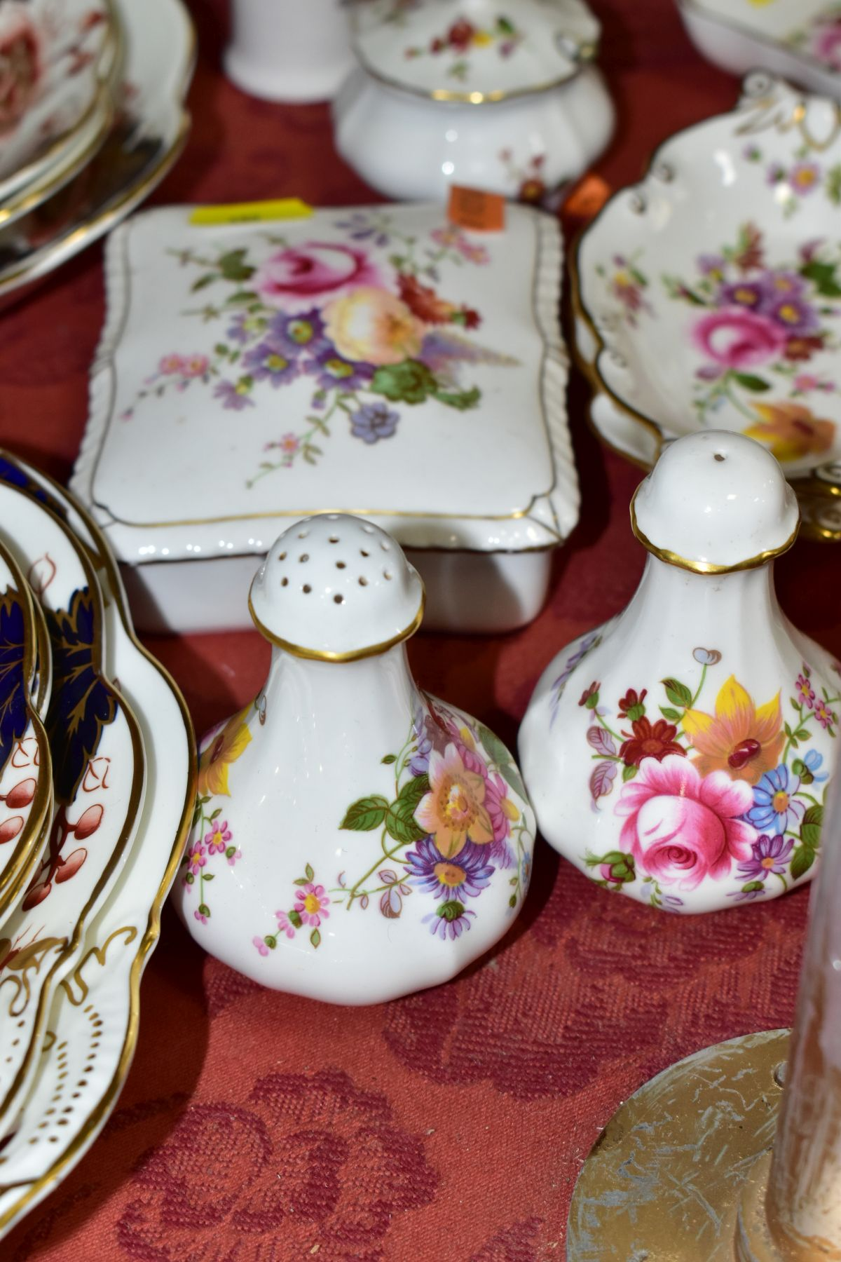DECORATIVE CERAMICS, ETC, to include Royal Crown Derby 'Derby Posies' pintrays trinket box, - Image 11 of 13