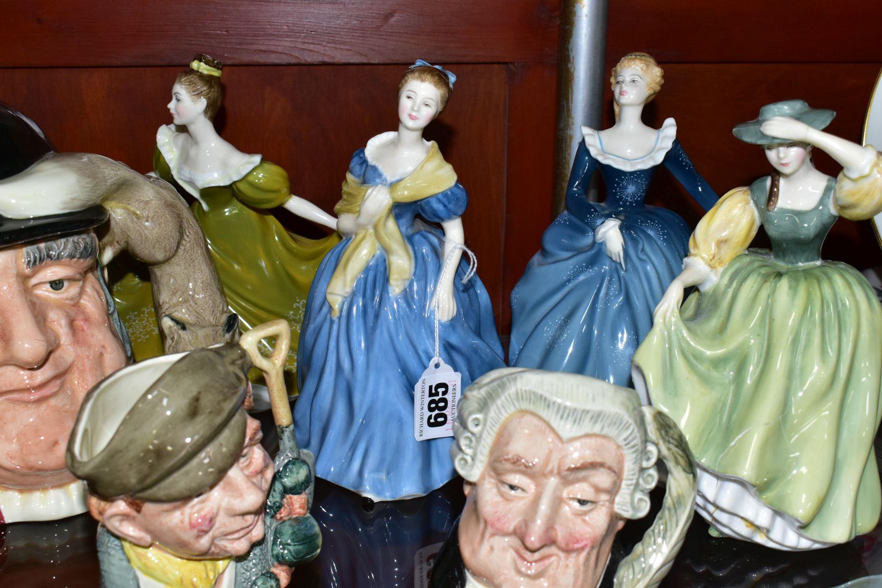 ROYAL DOULTON CERAMICS, comprising four figural sculptures 'Lynne' HN2329, 'Adrienne' HN2304, ' - Image 5 of 7