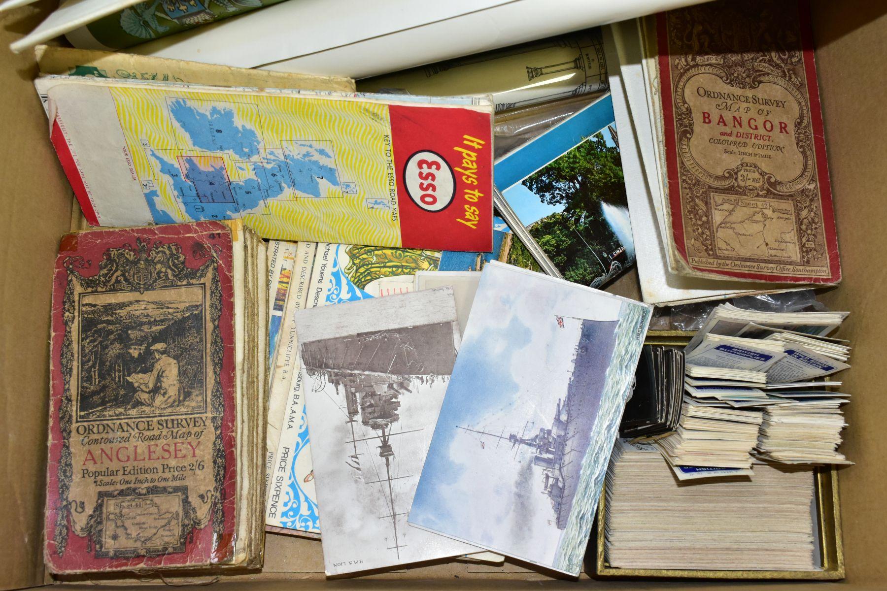 EPHEMERA, once box containing three Edwardian Postcard Albums (approximately 325 postcards), to - Image 6 of 23