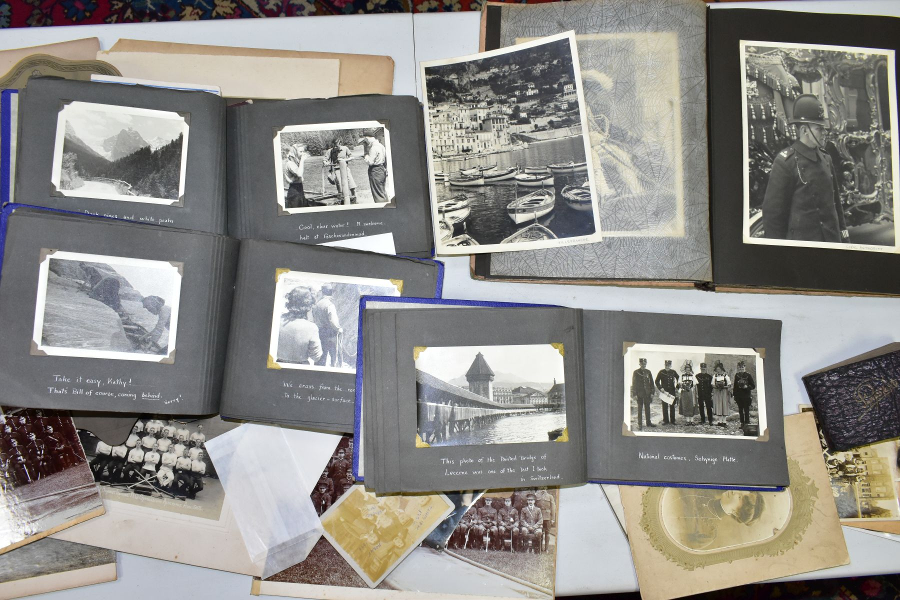 PHOTOGRAPHS, a collection of Edwardian, early - mid 20th Century photographs in one box and four - Image 6 of 6