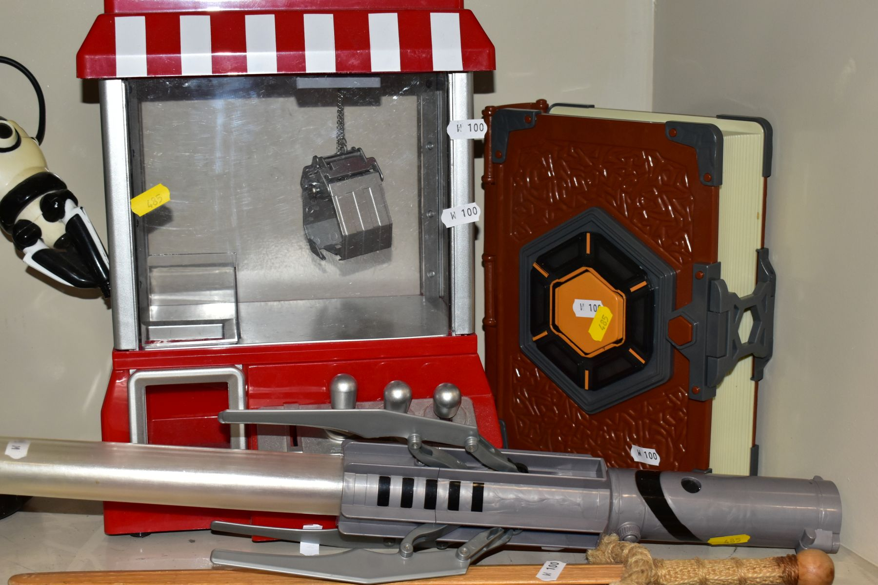 CHILDRENS TOYS etc to include Robosapian with remote control, a light sabre, Mad Hatter - Image 3 of 10