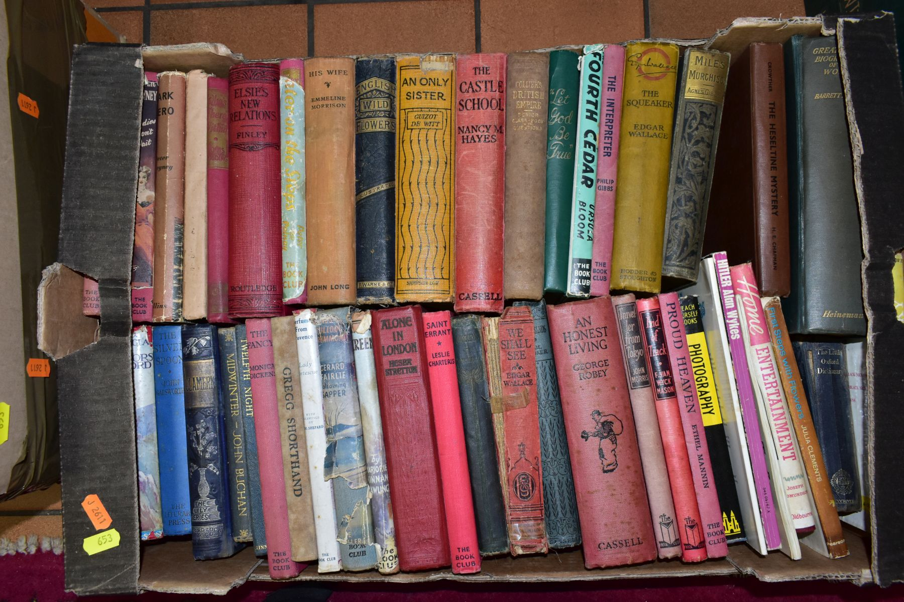 BOOKS, six boxes of over one hundred and twenty five miscellaneous titles to include Royal - Image 3 of 9