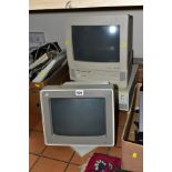 COMPUTER EQUIPMENT ETC, to include an IBM Type 8550 computer with IBM 8513002 monitor, Compaq