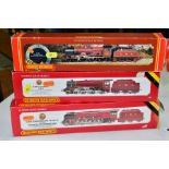 THREE BOXED HORNBY RAILWAYS 00 GAUGE L.M.S. LOCOMOTIVES, Duchess Class 'Duchess of Sutherland' No.