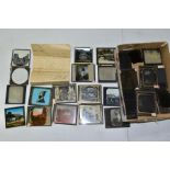 PHOTOGRAPHIC PLATES/MAGIC LANTERN SLIDES, ninety five plates relating to early 20th century