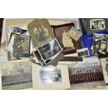 PHOTOGRAPHS, a collection of Edwardian, early - mid 20th Century photographs in one box and four