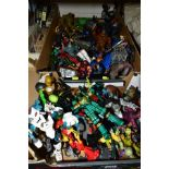 A QUANTITY OF ASSORTED MODERN ACTION FIGURES, to include Spiderman, Teenage Mutant Turtles,