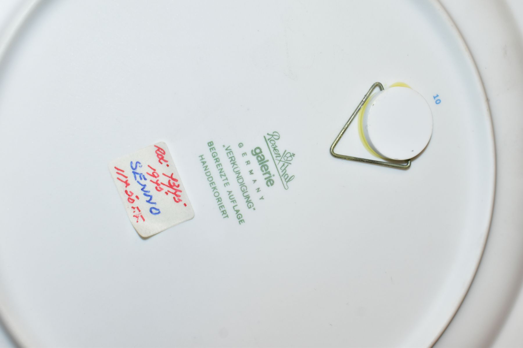 THREE BOXED ROSENTHAL CHRISTMAS PLATES, 1973, 1974 and 1975 all signed by Bijorn Wiinbald - Image 12 of 12