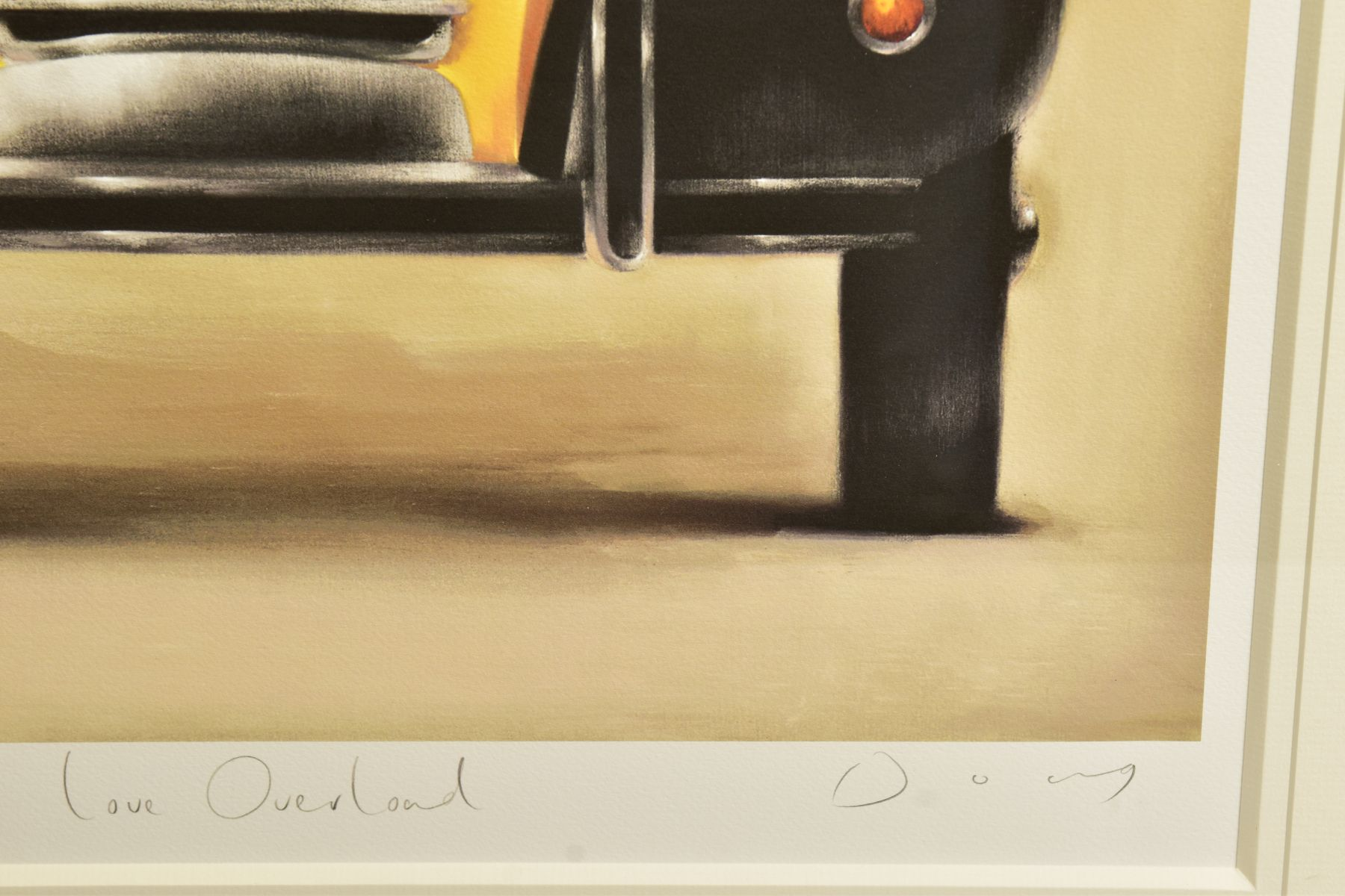 DOUG HYDE (BRITISH 1972) ' LOVE OVERLOAD', a boy and his pets in a Citroen 2CV, limited edition - Image 3 of 12