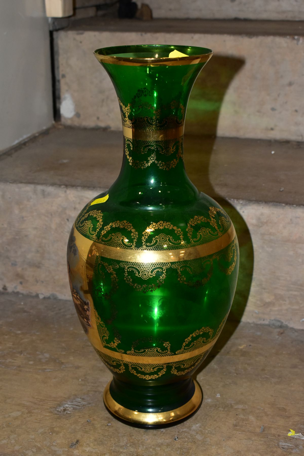 A GROUP OF CUT/COLOURED GLASSWARES, etc, to include a pair of Waterford crystal wines, a Stuart - Image 12 of 13