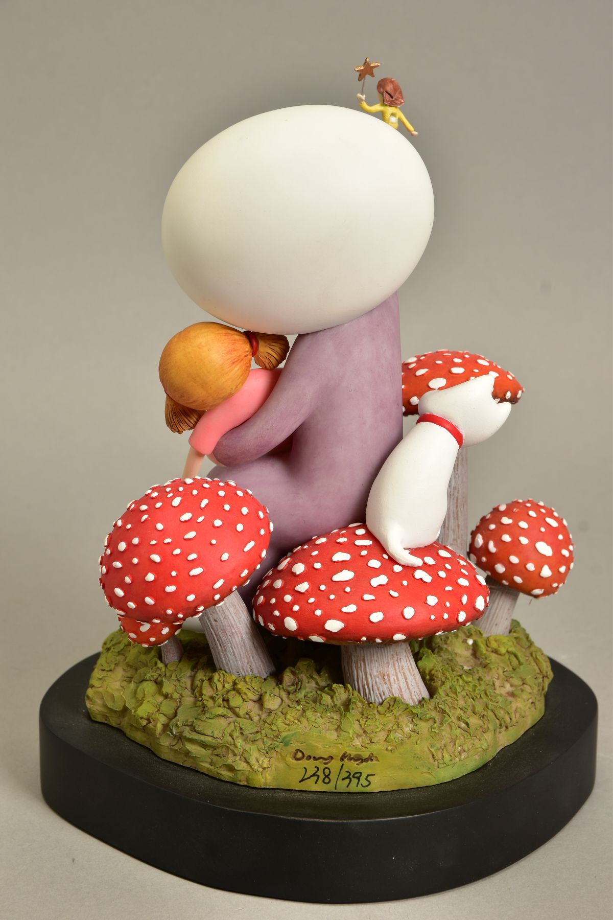 DOUG HYDE (BRITISH 1972) 'MAKE A WISH', limited edition sculpture of a girl and her doll, - Image 6 of 10