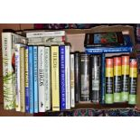 BOOKS, one box containing twenty two titles relating to Birds, Fish, Mammals and Encyclopaedic