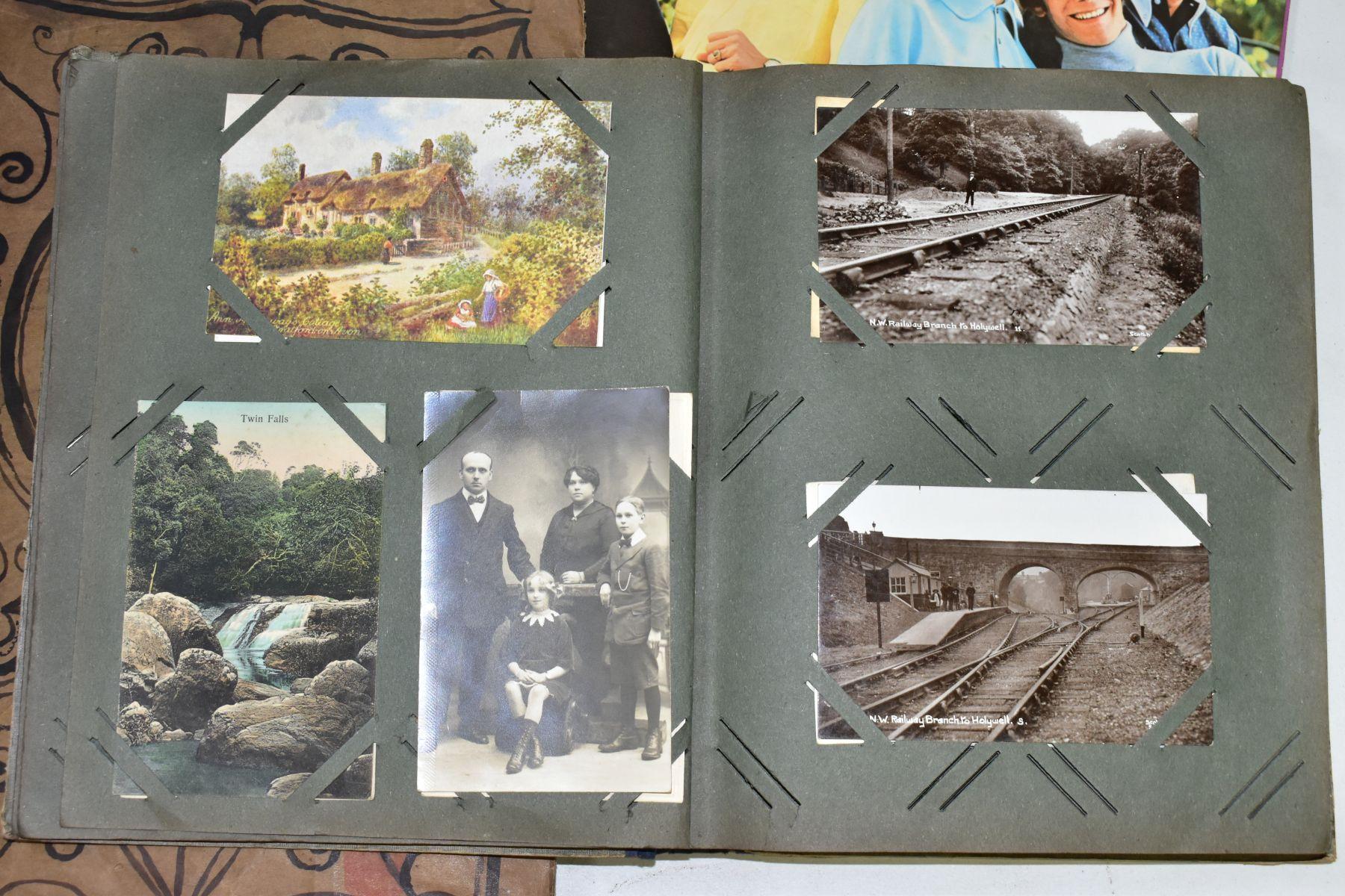 EPHEMERA, once box containing three Edwardian Postcard Albums (approximately 325 postcards), to - Image 16 of 23