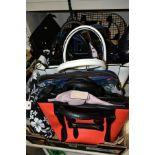 TWELVE LADIES HAND BAGS to include three 'Superbia' of Italy, Lorenz, Atmosphere, Signare Fiore etc