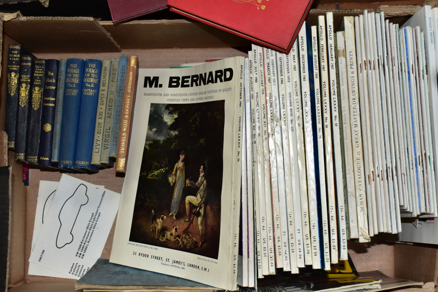 BOOKS, three boxes containing approximately sixty two titles including Reference, Furniture, - Image 2 of 4
