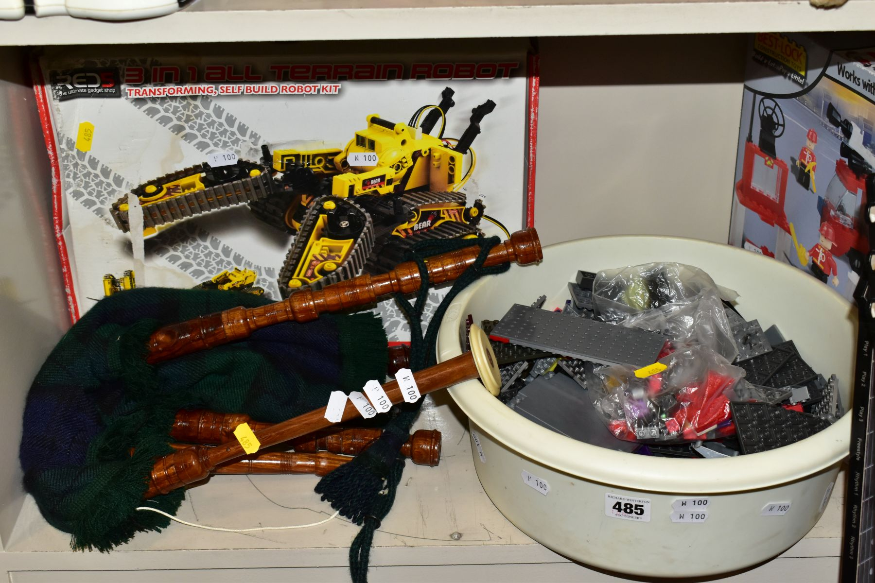 CHILDRENS TOYS etc to include Robosapian with remote control, a light sabre, Mad Hatter - Image 5 of 10