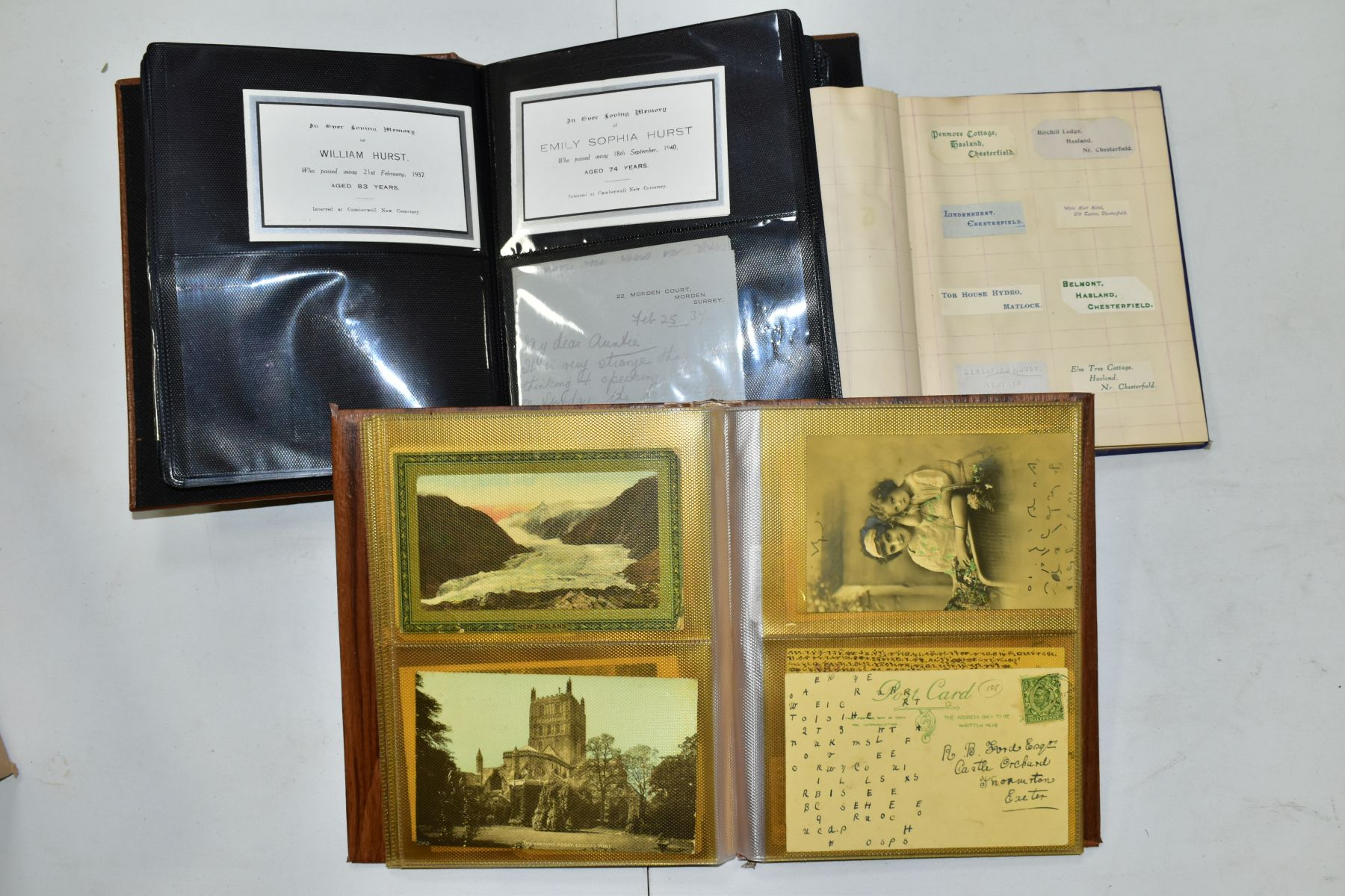 EPHEMERA AND POSTAL HISTORY, three albums containing an unusual collection of Arms and Crests, - Image 4 of 8