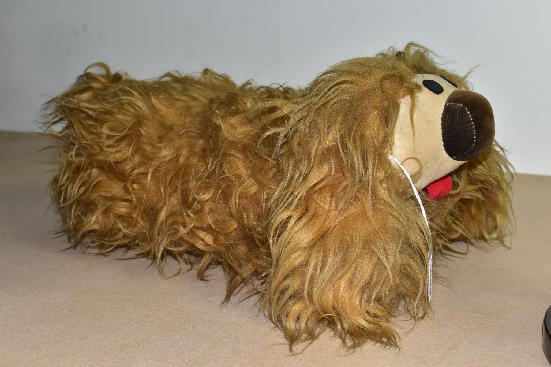 A MERRYTHOUGHT MAGIC ROUNDABOUT DOUGAL SOFT TOY, label to the underside, approximate length 45cm ( - Image 3 of 5