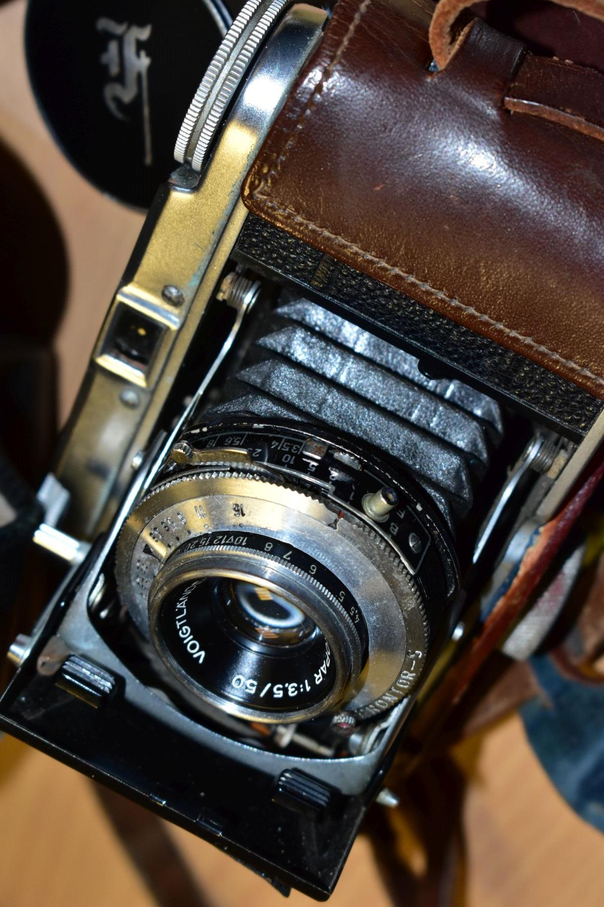 AN ORIGINAL OLYMPUS F HALF FRAME FILM CAMERA fitted with a 38mm f1.8 Olympus Zuiko lens and F T - Image 11 of 11
